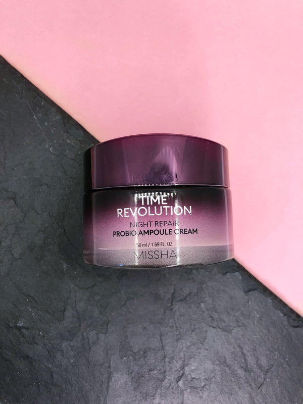 Missha Time Revolution Night Repair Probio Ampoule Cream - The Magic Glow Co