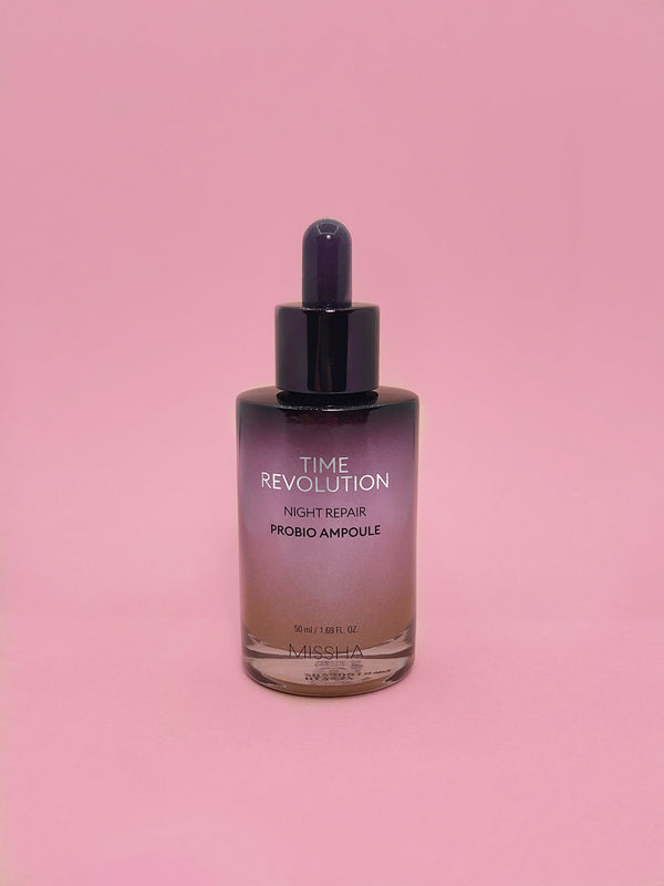 Missha Time Revolution Night Repair Probio Ampoule - The Magic Glow Co