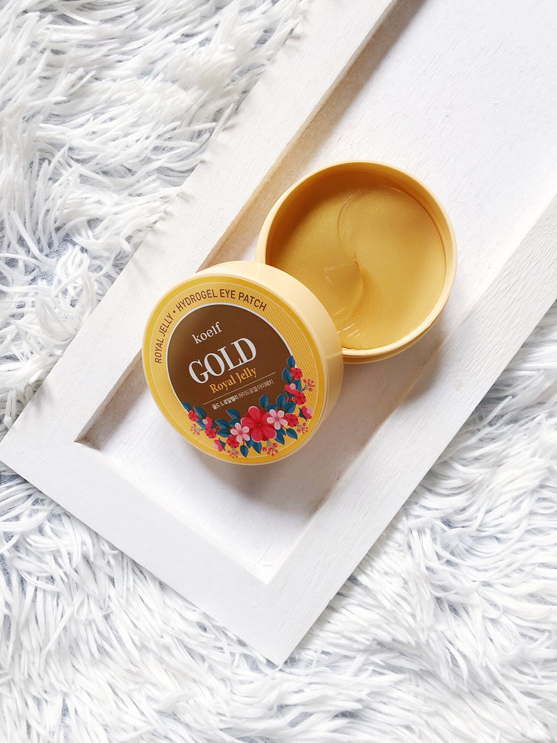 Koelf Gold & Royal Jelly Eye Patch - The Magic Glow Co.
