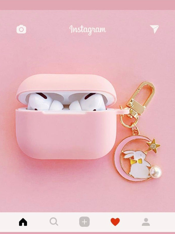 Cute Korean Silicone Cover for Apple AirPods Pro | The Magic Glow Co.
