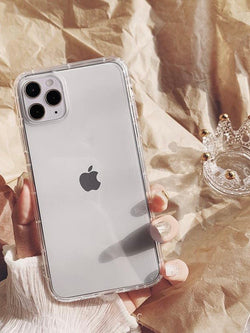 Simple Solid Color Transparent iPhone Case - The Magic Glow Co.