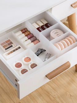Adjustable Drawer Storage Box For Cosmetics - The Magic Glow Co.