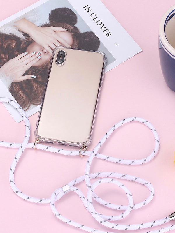 Luxury Crossbody Silicone Phone Case For iPhone - The Magic Glow Co.