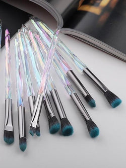 Diamond Makeup Brush Set | The Magic Glow Co.