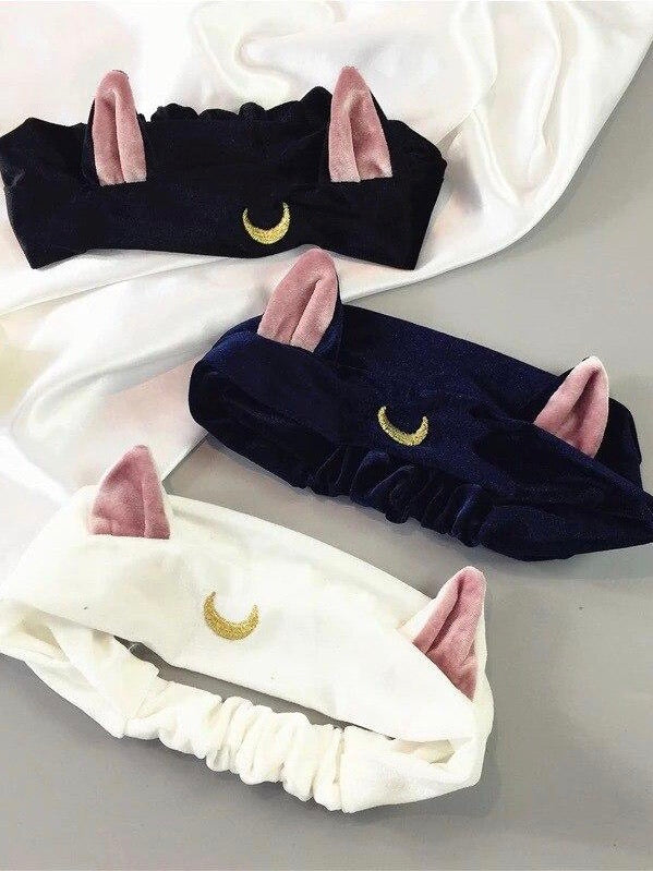 Sailor Moon Cat Ears Headband - The Magic Glow Co.