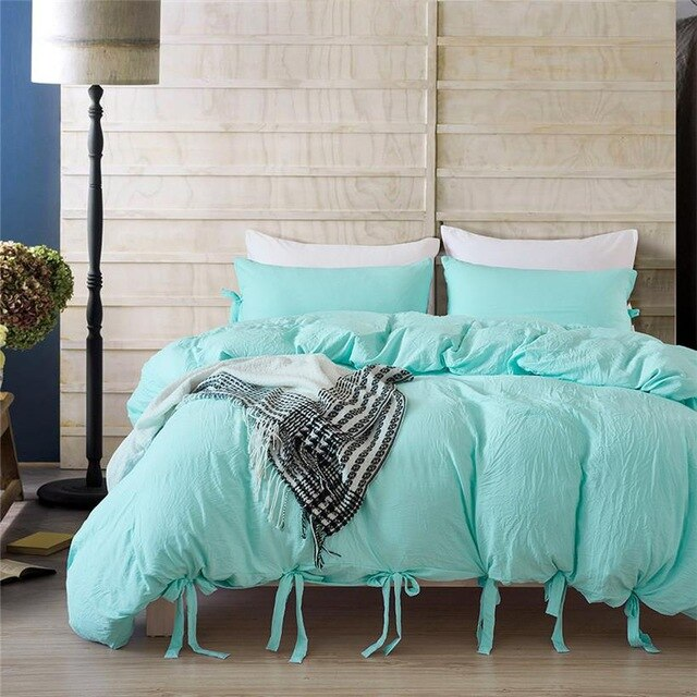 Bedding Duvet Cover Set With Ties - The Magic Glow Co.