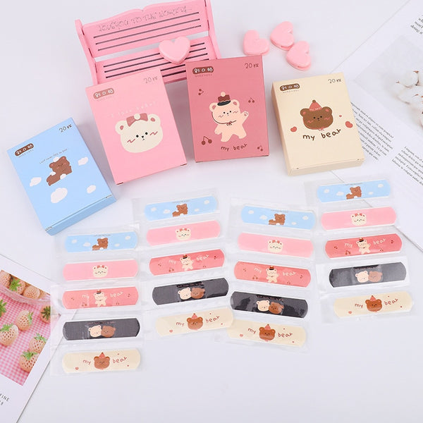 Kawaii Breathable Cute Cartoon Band Aid