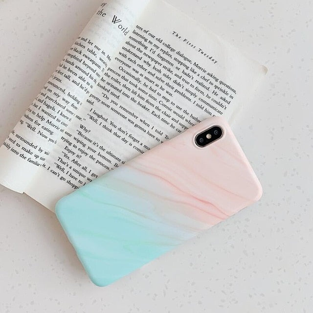 Rainbow Kickstand Stand Holder Matte iPhone Case - The Magic Glow Co.