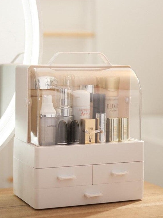 Multi-layer Drawer Makeup Organizer Plastic Cosmetic Storage Box - The Magic Glow Co.