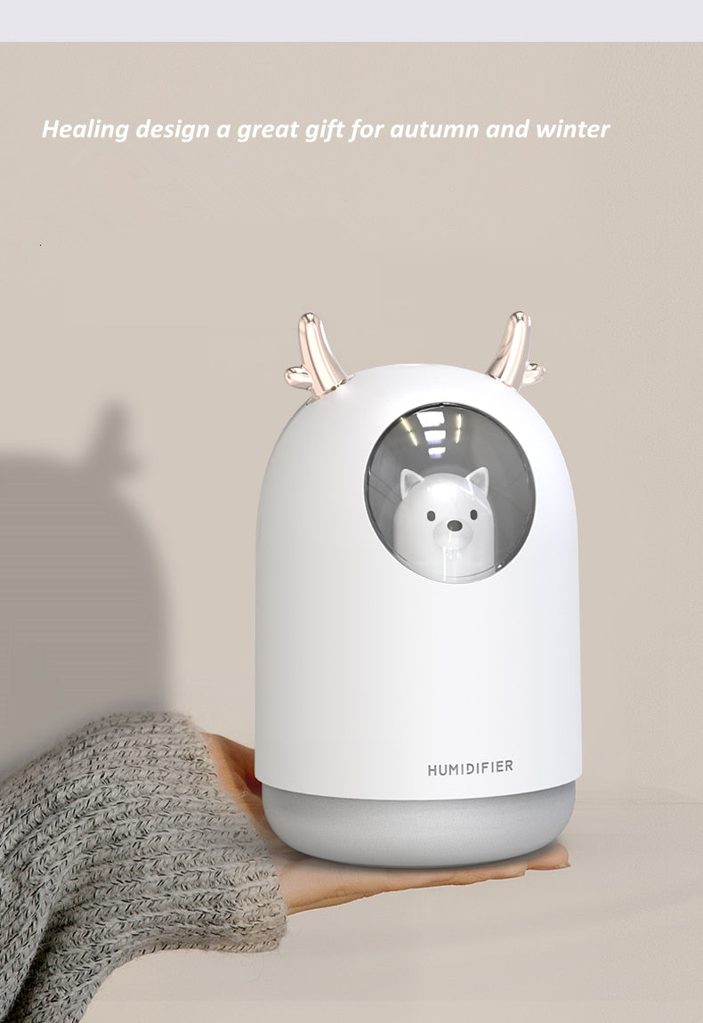 Cute Pet USB Humidifier - The Magic Glow Co.