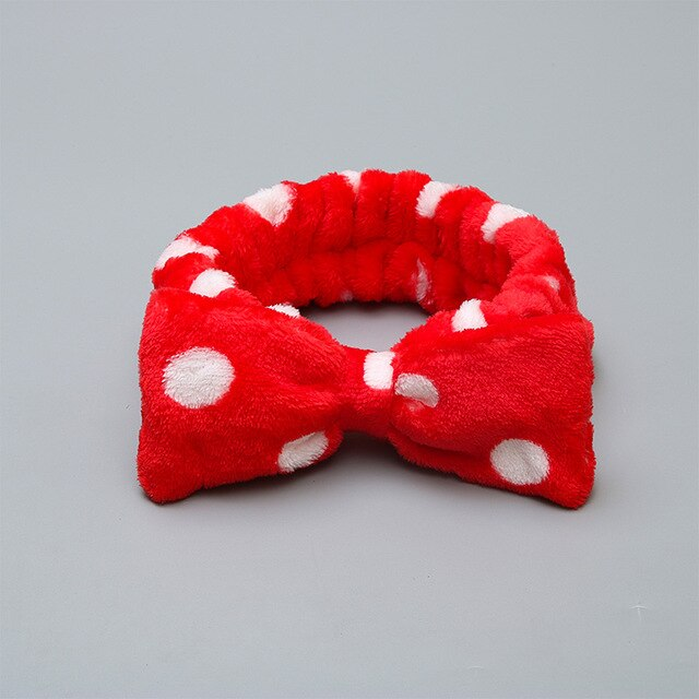 63 Style Coral Velvet Washable Hair Band - The Magic Glow Co.