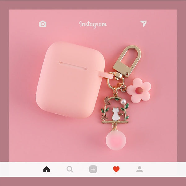 Cute Korean Silicone Case for Apple AirPods | The Magic Glow Co.