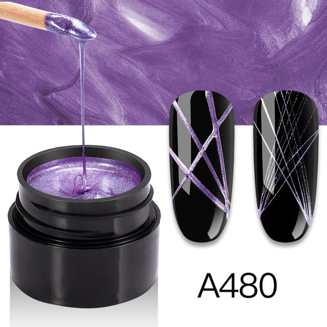 UV Gel Spider Line For Nails Art - The Magic Glow Co.