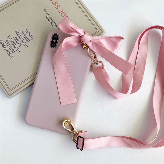 Lanyard Phone Case For iPhone  | Crossbody Phone Case - The Magic Glow Co.