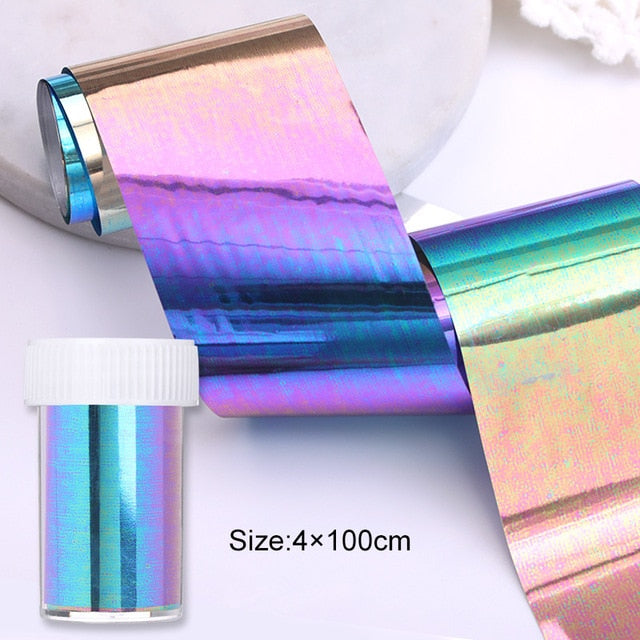 Nail Transfer Foils Nail - The Magic Glow Co.