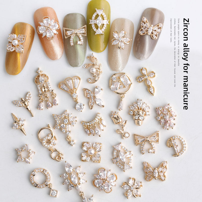 Zircon Crystal Rhinestones Nail Charms | Nail Decoration | The Magic Glow Co.