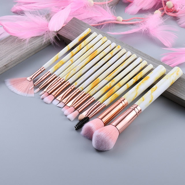 Professional Makeup Brush Set - The Magic Glow Co.