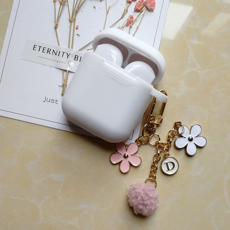 Luxury Cute Korean Flower Decoration Case for AirPods | The Magic Glow…