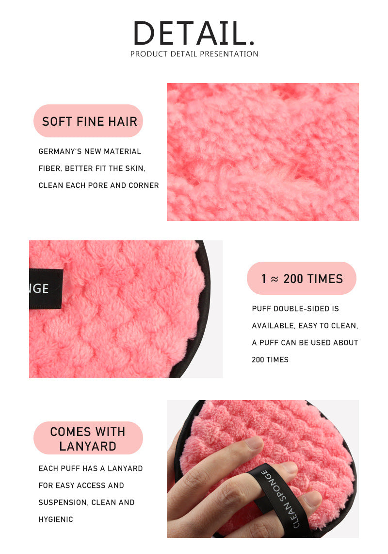 Microfiber Makeup Remover Pads - The Magic Glow Co.