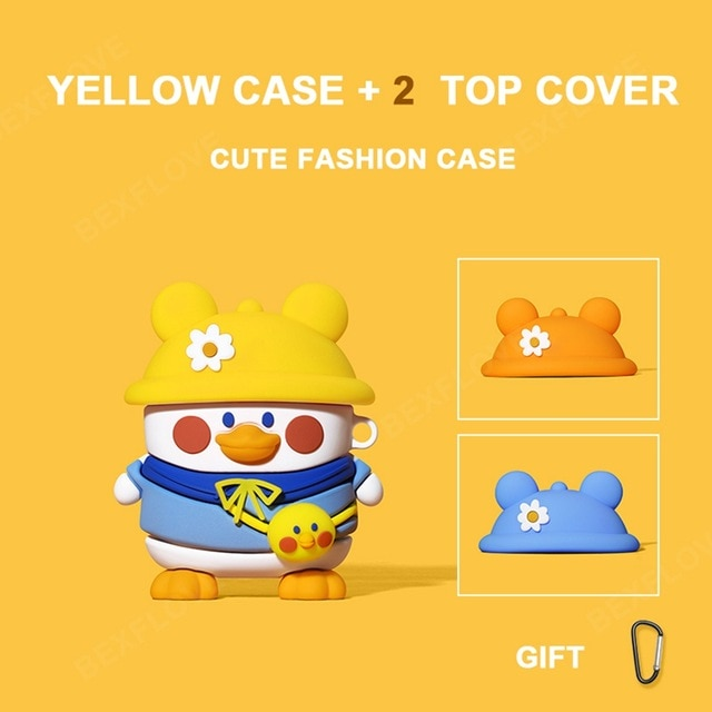 3D Cute Animal Earphone Case for AirPods Pro | The Magic Glow Co.