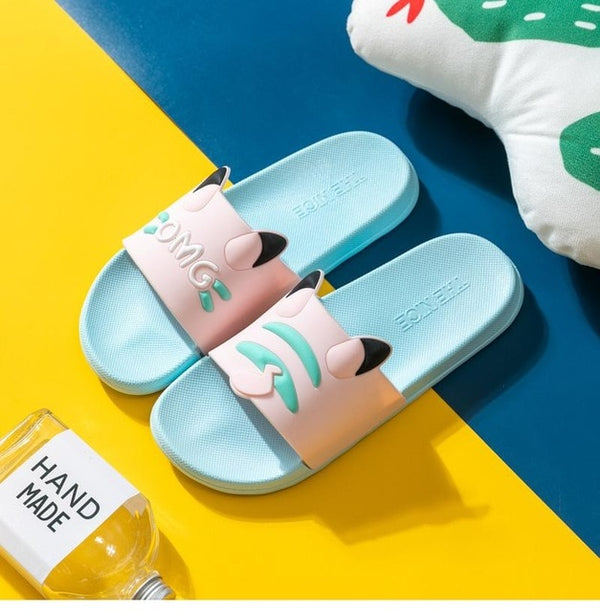Cartoon Animal Summer Slippers | The Magic Glow Co.