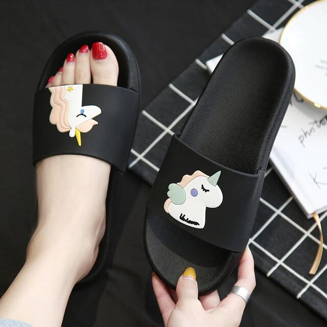 Unicorn Flip Flops | Slippers - The Magic Glow Co.