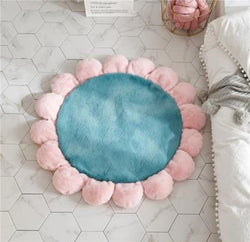 Soft Flower Pet Mat | Dog Bed - The Magic Glow Co.