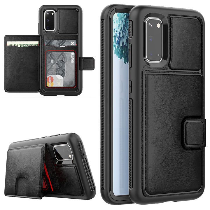 360° Protective wallet case for Samsung S20 Series
