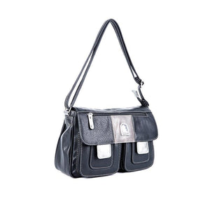 Women's Casual Shoulder Bags Multi Pocket Crossbody Bag 112