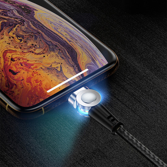 Ucord Lux Magnetic charging cable with LED