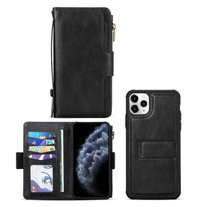 Detachable Magnetic With Wrist Strap Case for iPhone