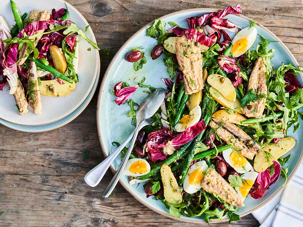 Mackerel Niçoise Salad