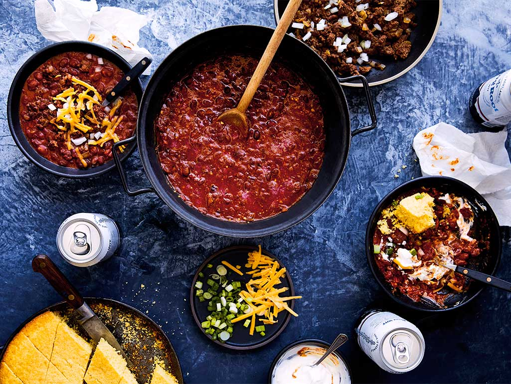 Spicy Chili for a Crowd