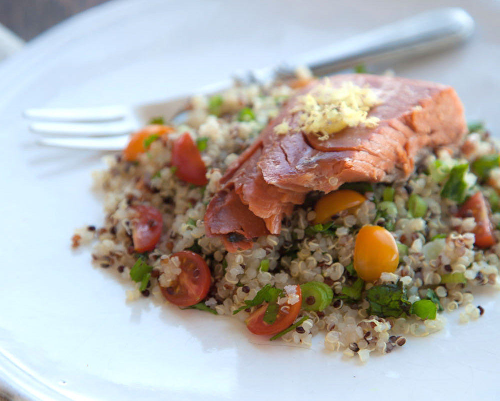 6b9c2156a773 Mediterranean flavors blend beautifully with our lightly smoked salmon