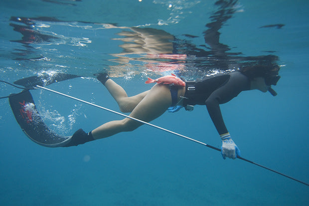 Kimi Werner spearfishing