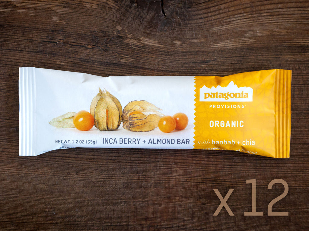 1 Case of Inca Berry + Almond Bar 12 Pack