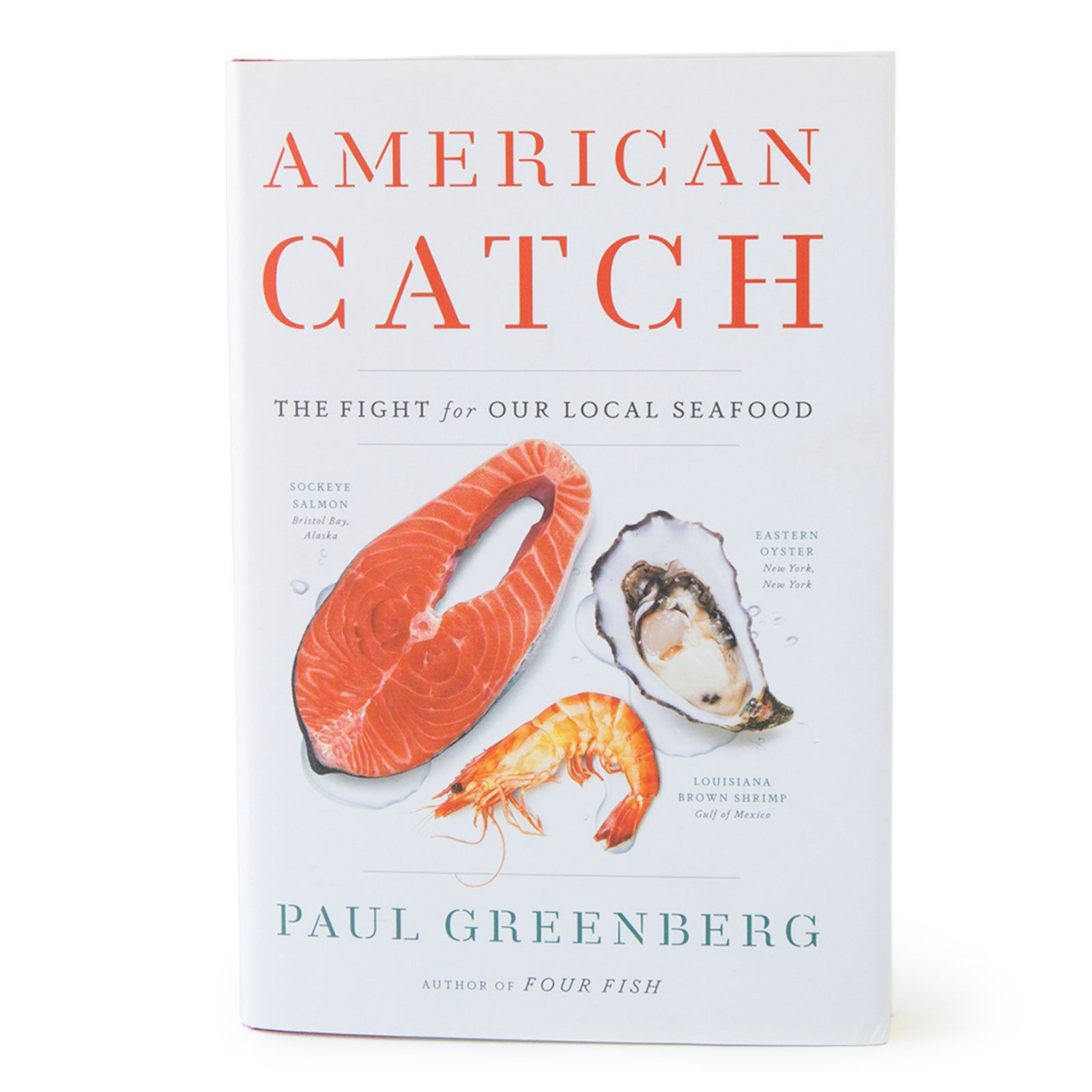American Catch book cover by Paul Greenberg on white background