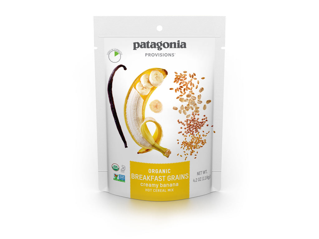 Patagonia Provisions Breakfast Grains Creamy Banana Package