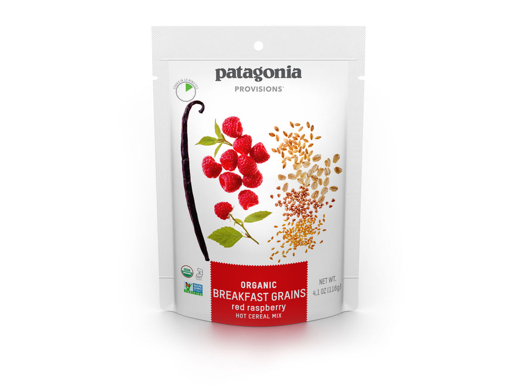 Patagonia Provisions Breakfast Grains Red Raspberry Package
