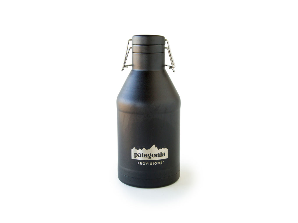 Black Provisions MiiR® Growler on white background