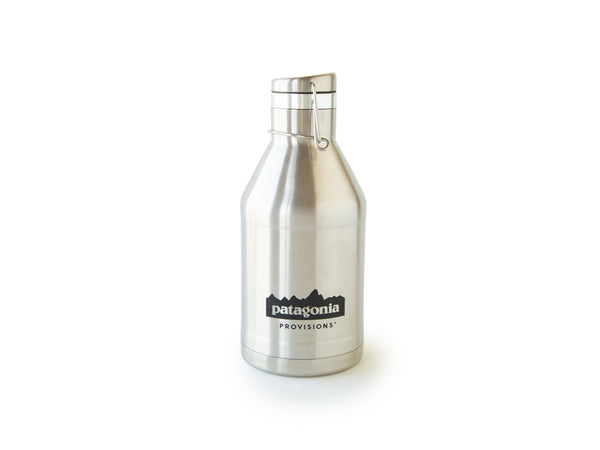 Stainless Provisions MiiR® Growler on white background
