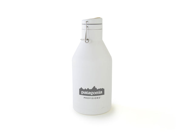 White Provisions MiiR® Growler on white background