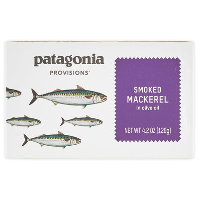 Patagonia Provisions Smoked Mackerel Package Front