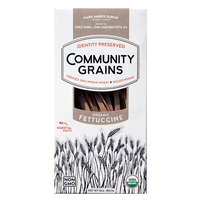 Community Grains Fettuccine package front