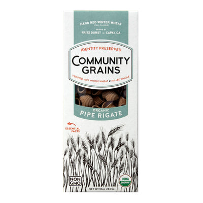 Community Grains Pipe Rigate package front