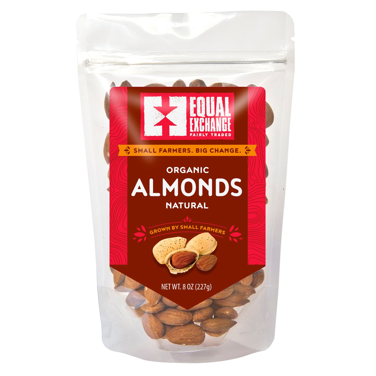 Equal Exchange Organic Natural Almonds package front