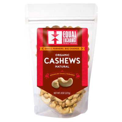 Equal Exchange Organic Natural Cashews package front