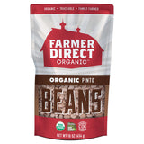 Farmer Direct Organic Pinto Beans package front