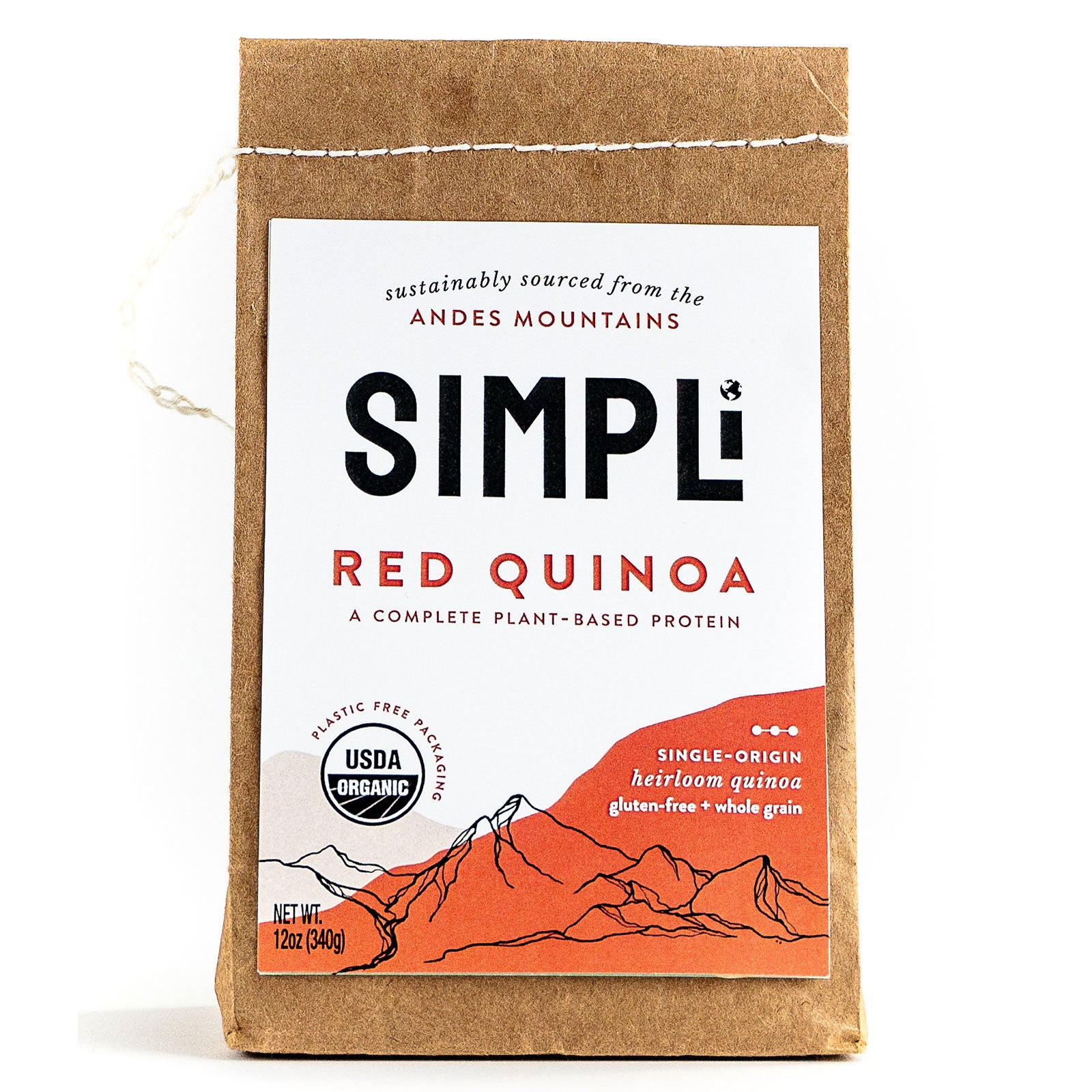 SIMPLi Red Quinoa package front
