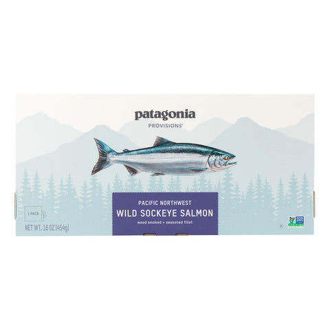 Pacific Northwest Wild Sockeye Salmon